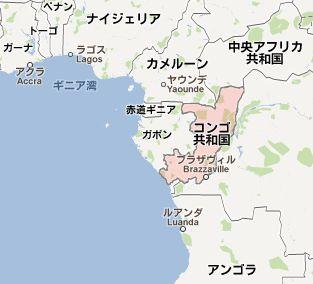 地図:コンゴ共和国