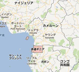 赤道ギニアmap