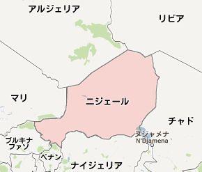 ニジェールmap