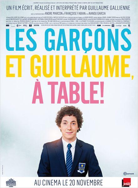 les garçon et Guillaume à table!