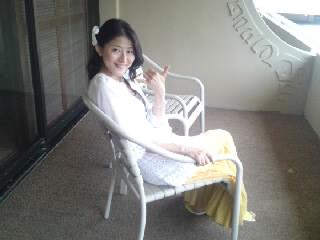 20120625-ハワイ部屋ベランダ小百合2