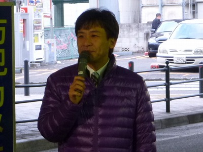 20130107大和駅駅頭01