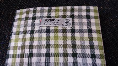 ゲッツナーの冬用オーダーシャツ生地・綿ネル