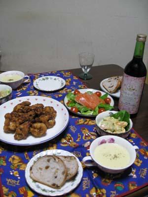 クリスマスディナー2012 2