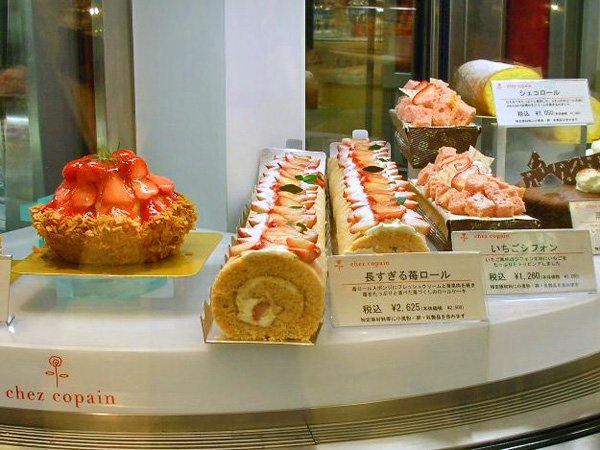 デパ地下の神戸洋菓子