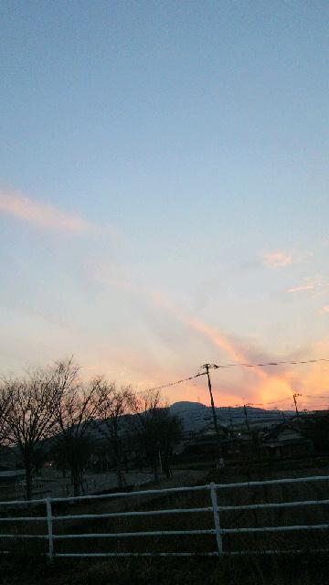 2013011222300000夕日と空1