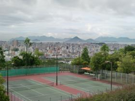 6月22日テニスコート