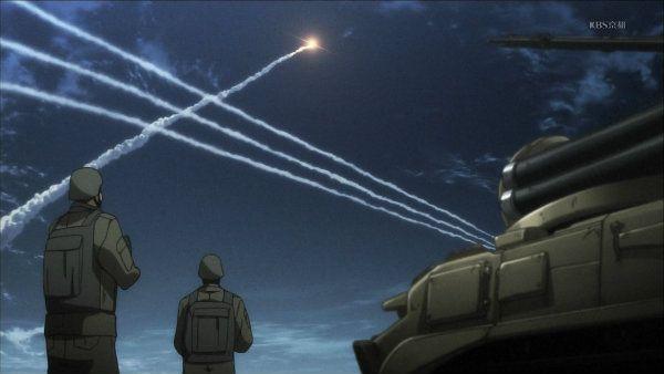 0 ロケット上昇 地上の兵士