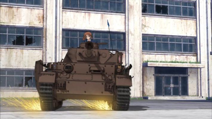 0 戦車 横滑り