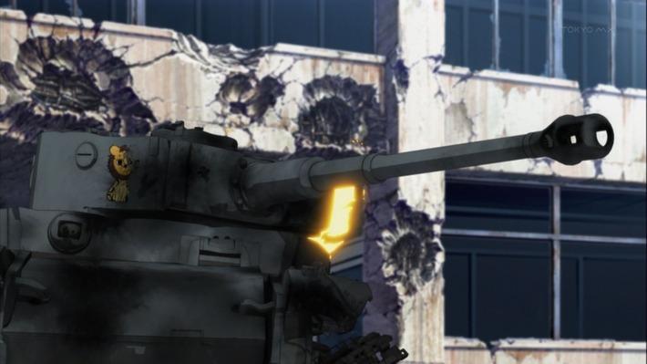 0 戦車 傷つく