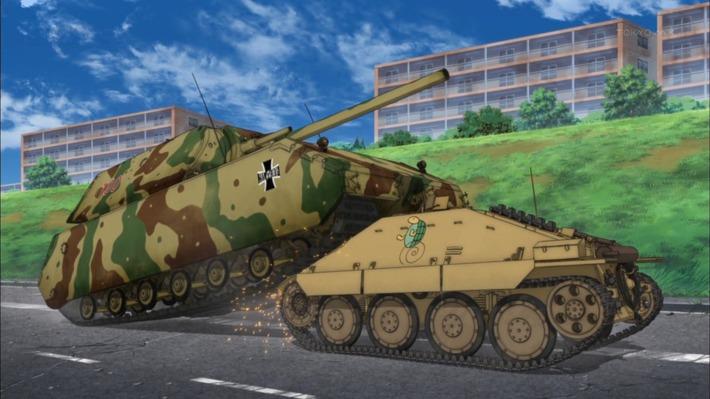 0 戦車 入り込む