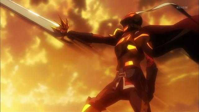 1 勇者 剣を突きつける