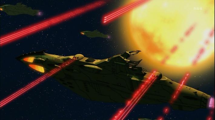 1 ガミラ艦 爆発