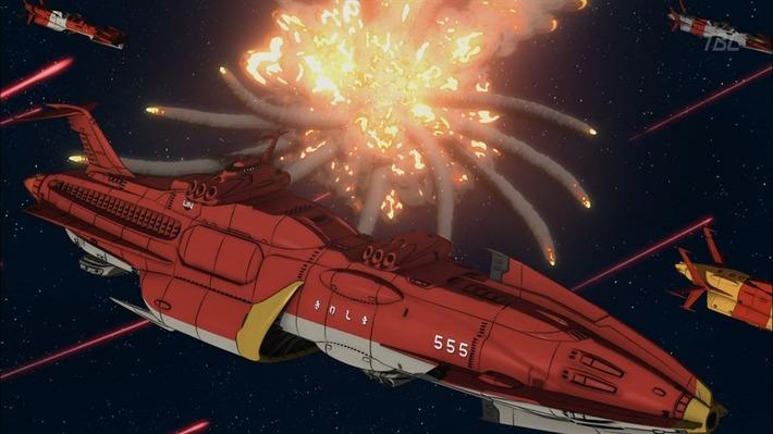 1 連合宇宙艦隊 爆発