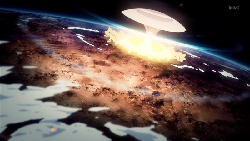 2 惑星間弾道弾 爆発 衛星軌道より