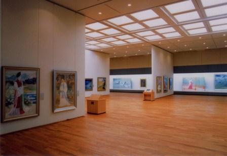 万葉文化館(日本画展示室)1