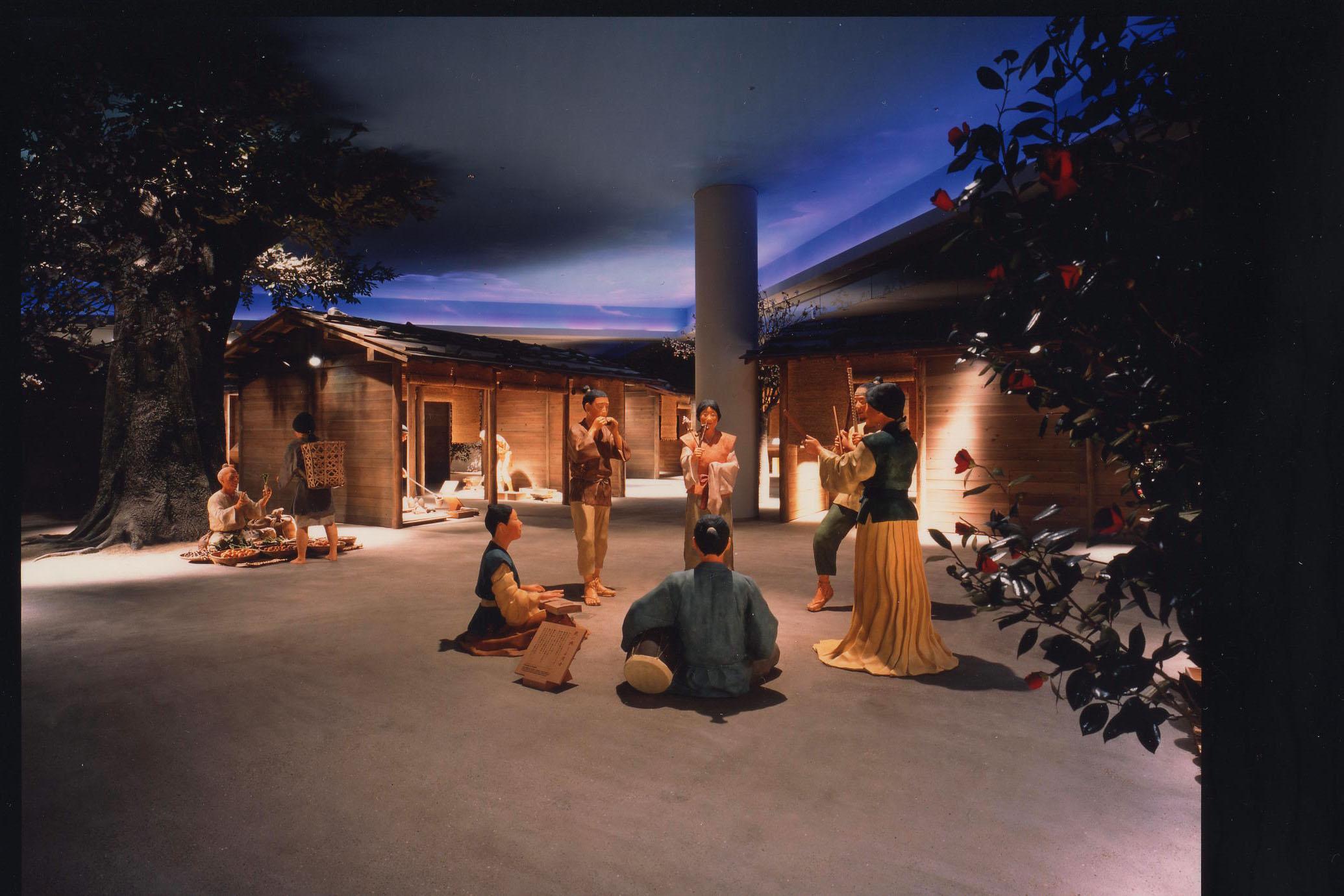 万葉文化館(展示)