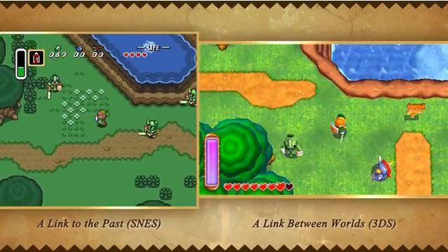 12月23日発売3DS『ゼルダの伝説神々のトライフォース2』1との比較検証海外ムービーが掲載中。マップは同じものを採用しているので、見た目の問題や、その他違いはある
