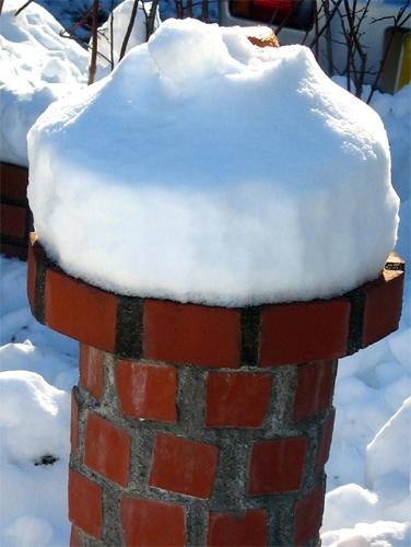 雪うさぎー1