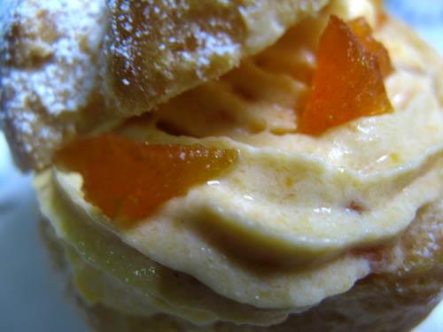市田柿のシュークリーム-2