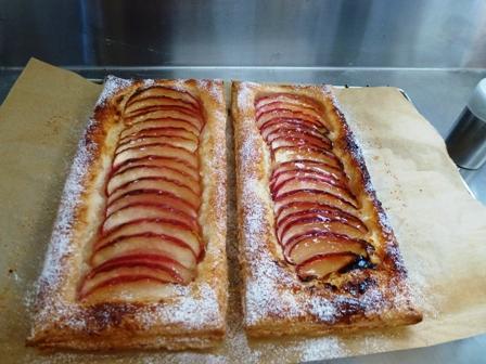 1薄焼きアップルパイ