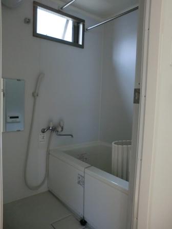 浴室はここ