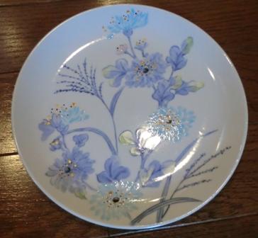 和風の絵皿