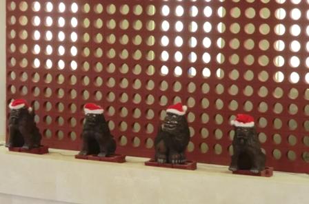 クリスマスシーサー1