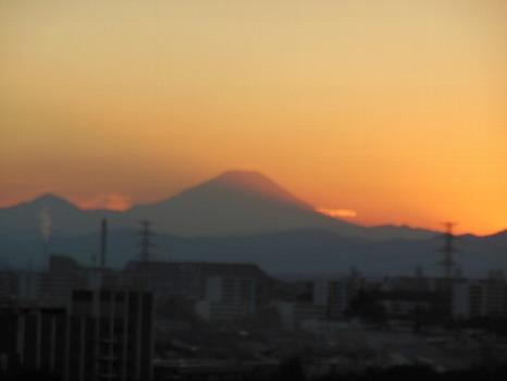 師走1日の富士
