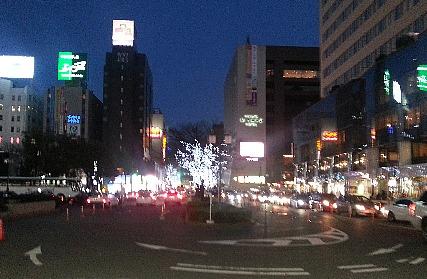 博多駅前イルミネーション450