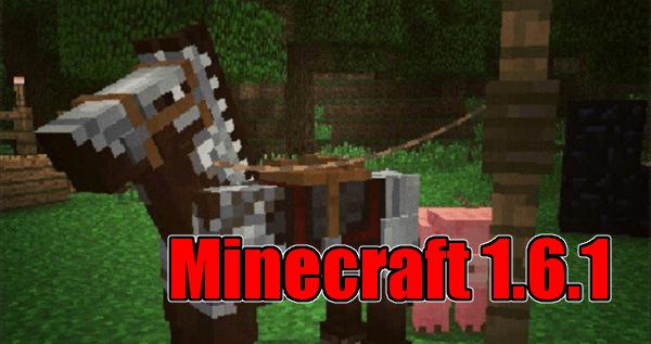 minecraft 1-6 horse!