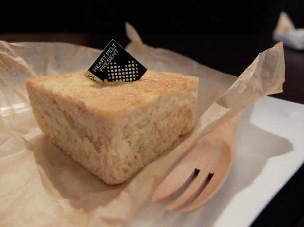 龍のたまごのスペルトチーズケーキ