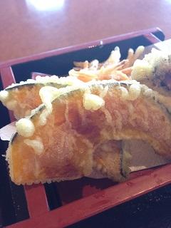 南部屋敷 野菜天ぷらそば 天ぷら
