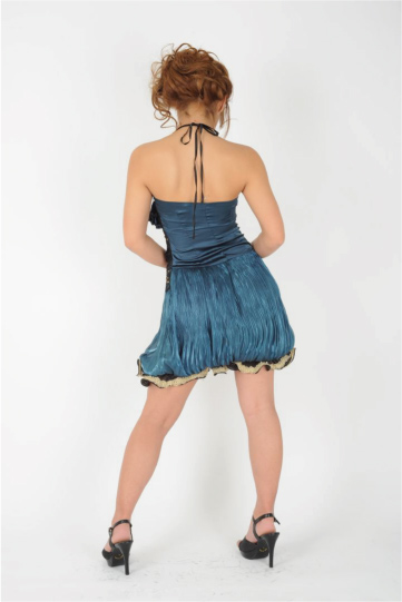 裾ふわクラシック ショートドレス