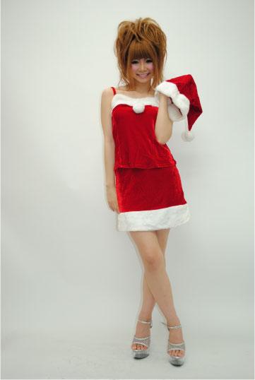 ツーピース サンタドレス