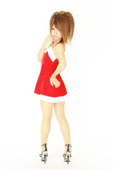 リボン付き サンタドレス