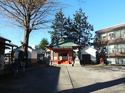 「篠塚稲荷神社」