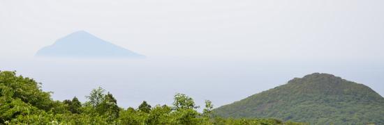かたのしま 利島と岳ノ平