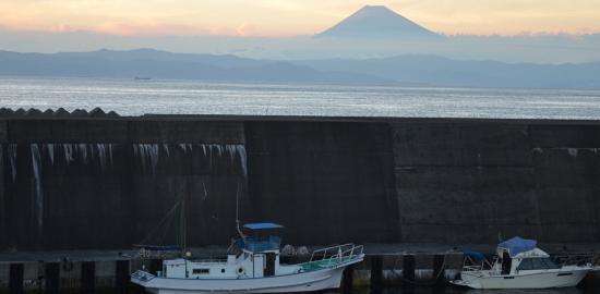 伊豆半島と富士