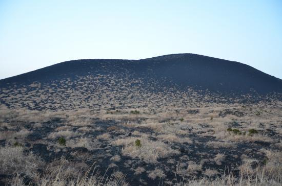 薄暮の三原山