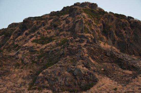 白石山 こんど正面稜線を攀ってみよう