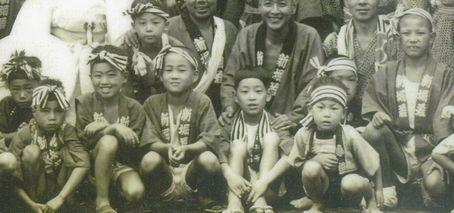 60年前の子供たち