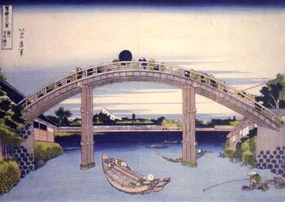 北斎・万年橋