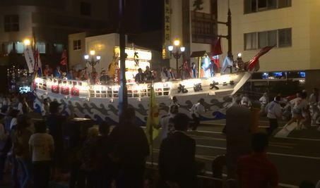 大漁ばやしパレード