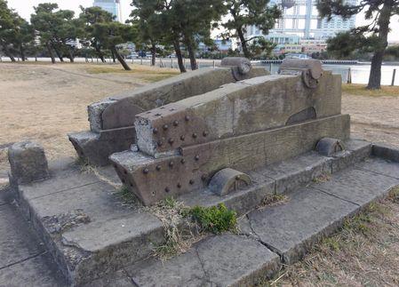 台場の砲台