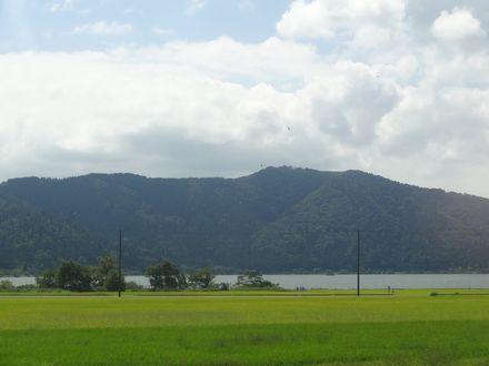 琵琶湖北岸、余呉湖