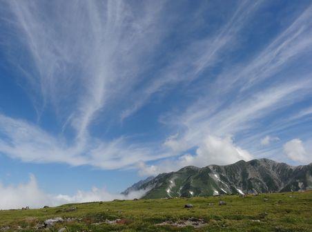 雲が美しい