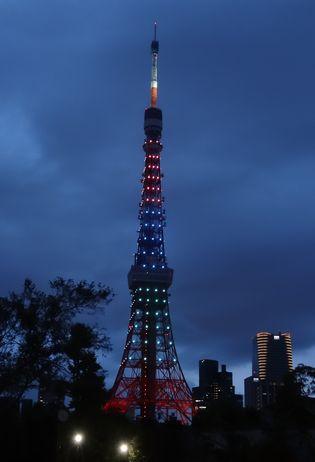 タワーの夜景