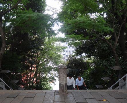 歴史の舞台、愛宕神社