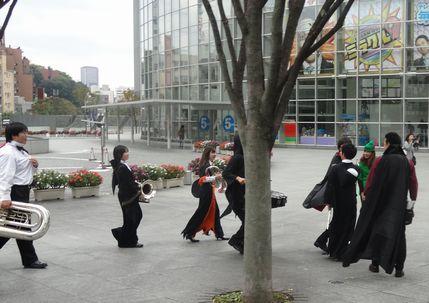 ハロウィンの音楽隊